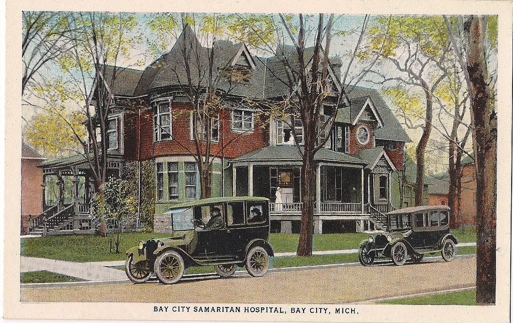 Bay City Samaritan Hospital Bay City Michigan With Images Bay City Bay City Michigan Bay County
