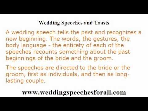 Wedding Speech Writing  Speech Writing