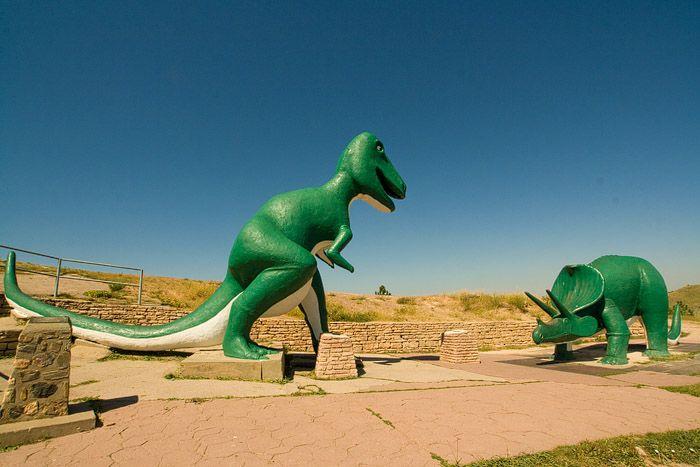 Rapid City Dinosaur Park Dinosaur Park South Dakota Road Trip Rapid City