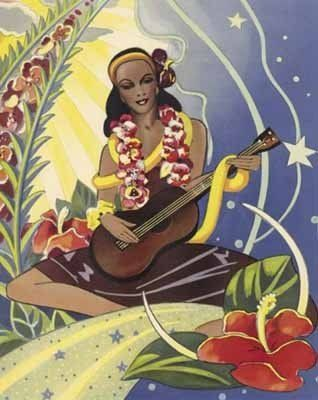 Old Polynesian Postcards