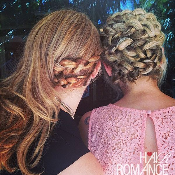 Twisting Braid Hairstyle Tutorial - Hair Romance #hairstyletutorials