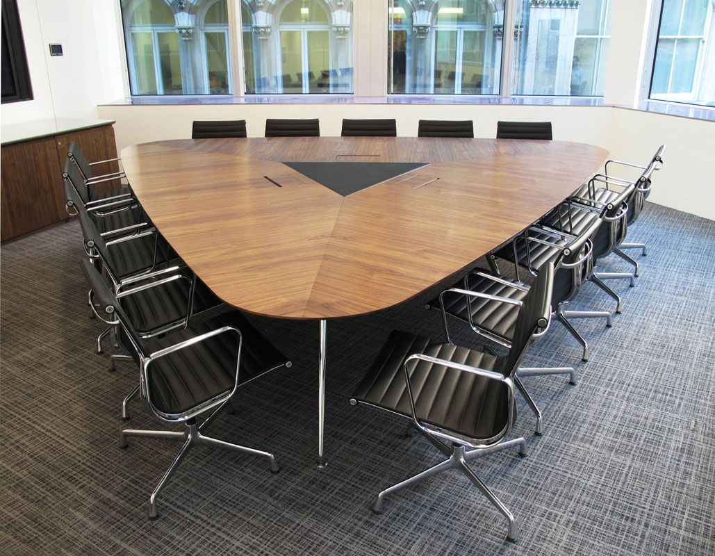 omega veneered conference table. | oficinas / offices | pinterest