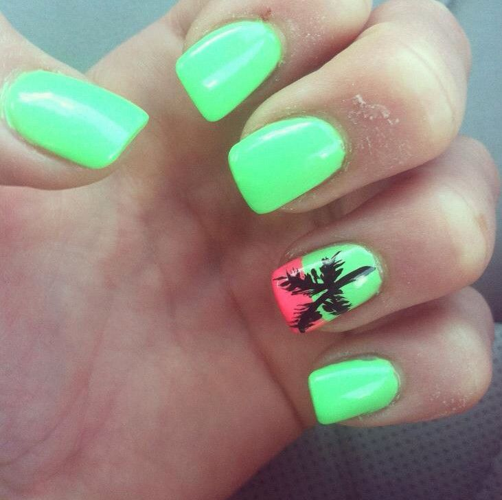 Nail ideas for miami beach manicure pinterest girls nail nail ideas for miami beach prinsesfo Images