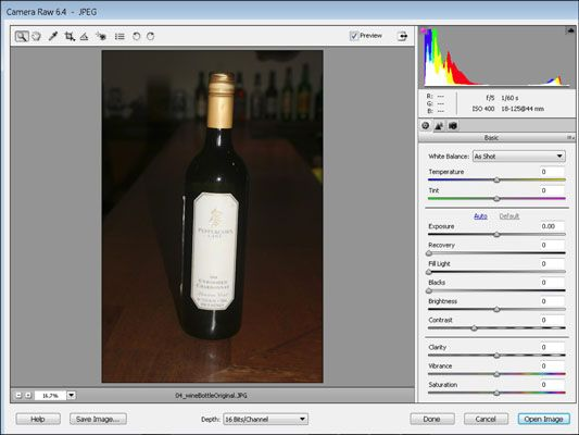 Convert 8-Bit Images to 16-Bit Images in Photoshop Elements 10 - For