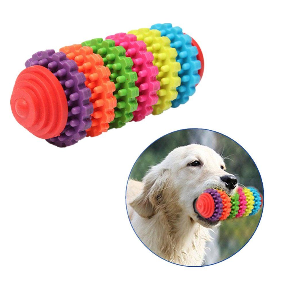 Pet Toys By Vibola Pet Dog Chew Toy Teeth Cleaning Treat Tooth