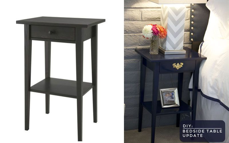hemnes bedside table hack - Google Search
