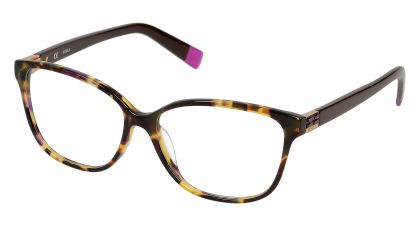5c58fd13e8 Just got these new frames... LOVE then! Tortoise shell with a touch of  purple throughout.