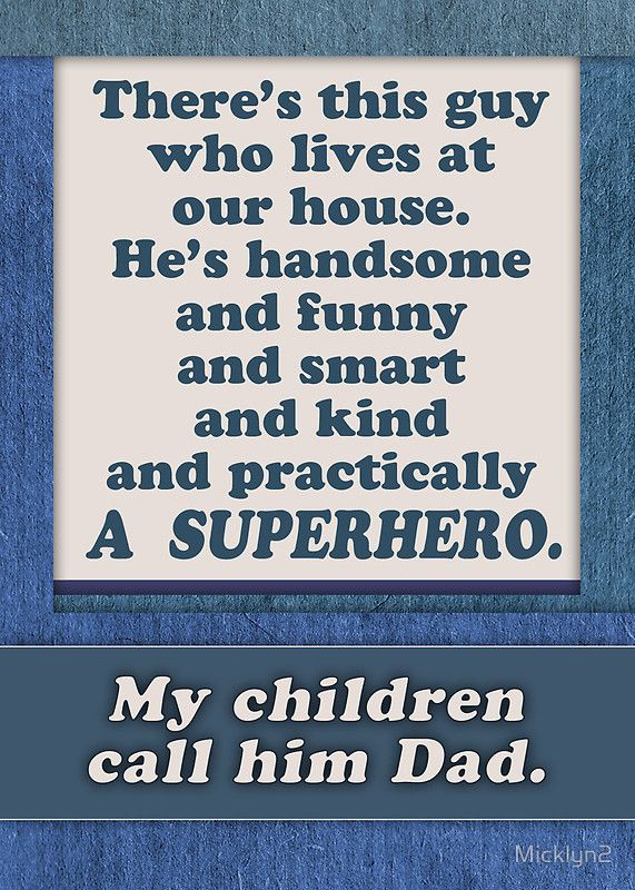 Happy Fathers Day Superhero Dad From Wife Mom Greeting Card By