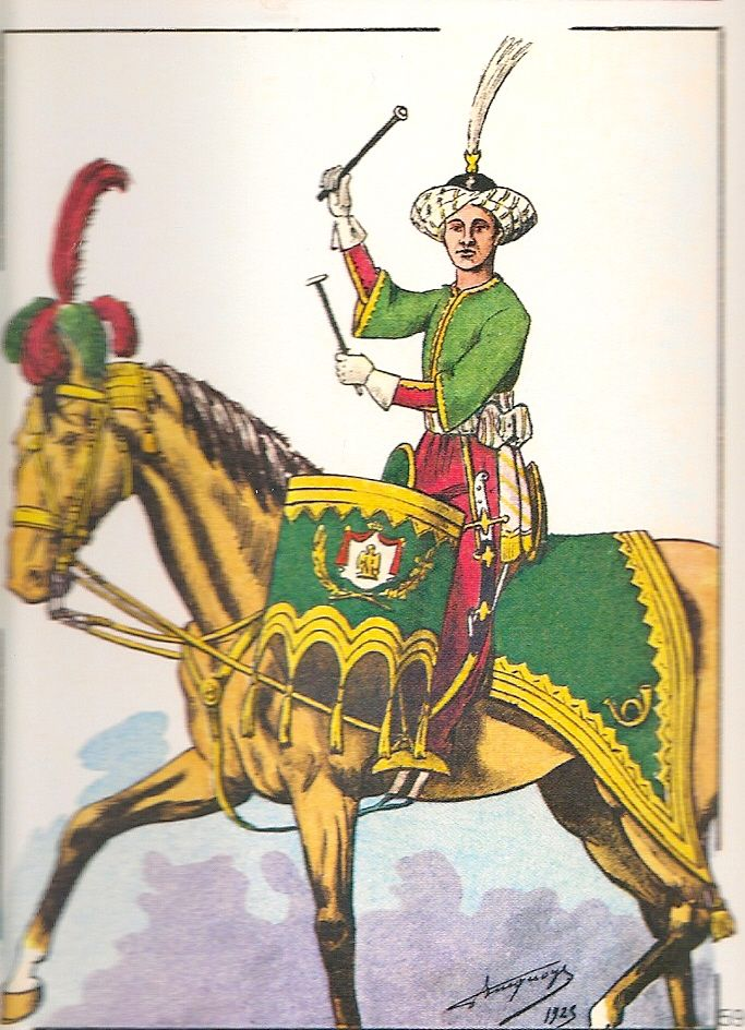 French; Imperial Guard, Chasseurs a Cheval, Kettle Drummer, 1804-05