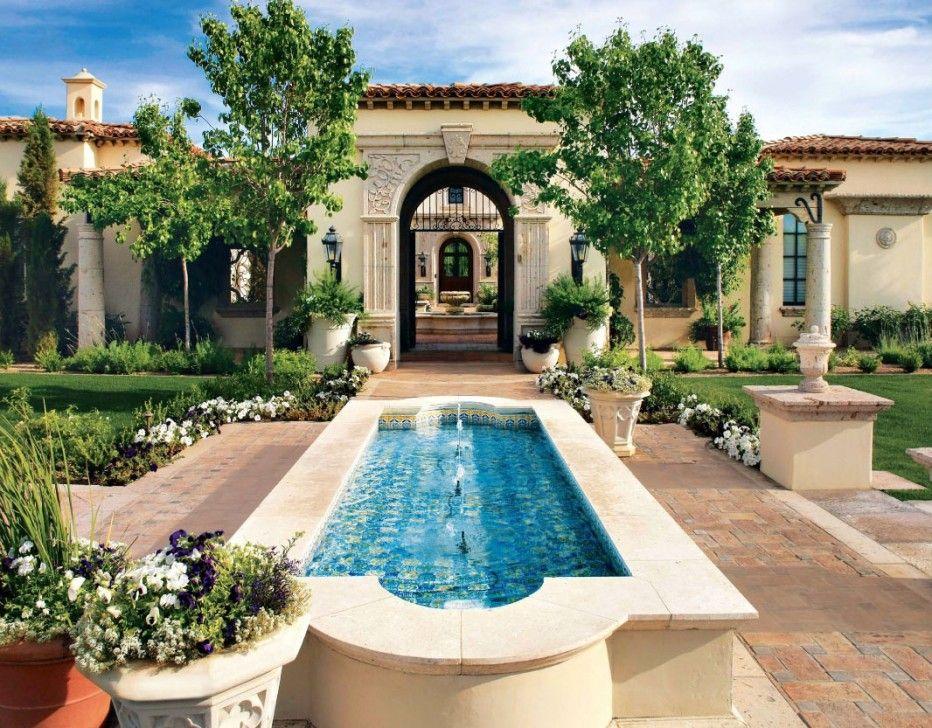 Spanish Home Landscape Paradise Valley | La Casa de mi Sueños ...