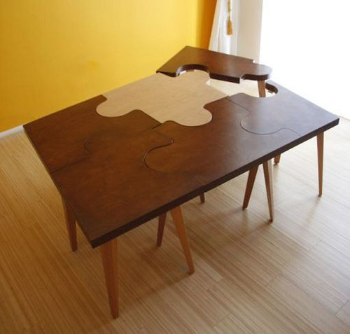 Puzzle Tables Modern Side Table Puzzle Table Table