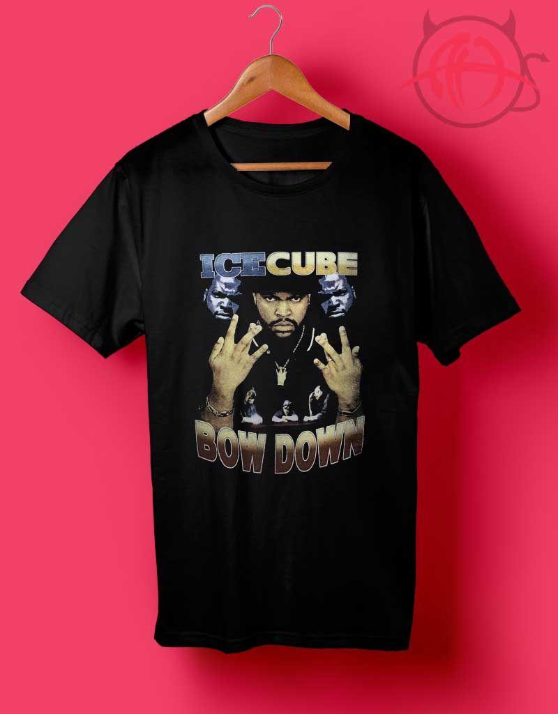 9fae01311 USA Ice Cube Bow Down T Shirt | Music T Shirt | Fashion, Shirts, T shirt