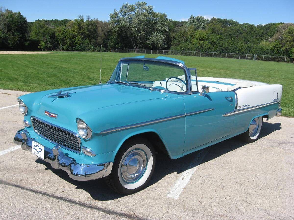 1955 Chevrolet Bel Air For Sale 1908955 Hemmings Motor News