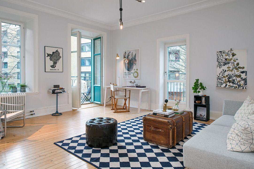Estilo n rdico con detalles vintage una casa preciosa - Casas estilo nordico ...