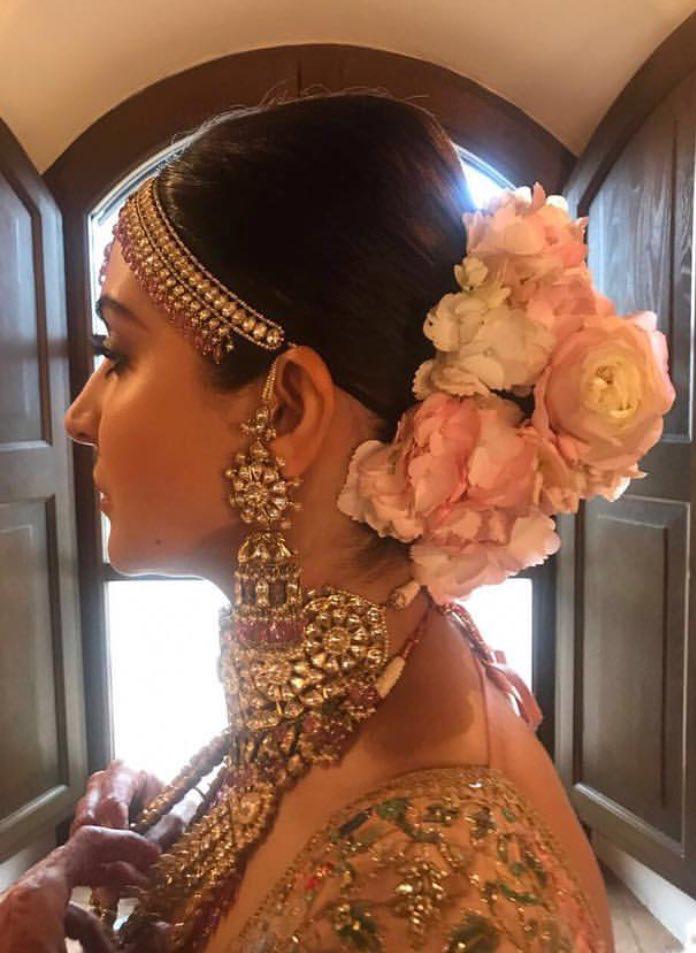 Anushka Hair Amp Jewellery For Her Wedding Virushka