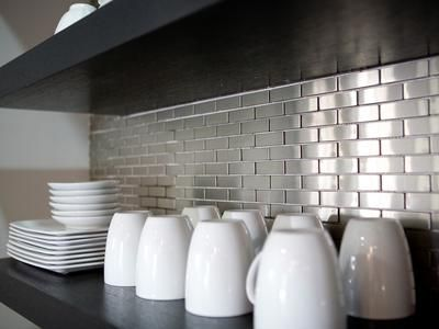 Stainless Steel Backsplashes Pictures Ideas From Stainless