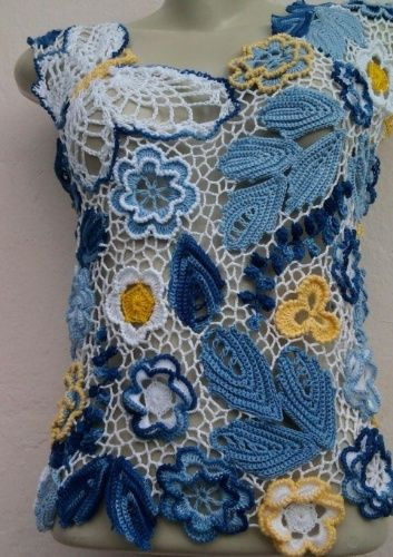 Blusa em renda irlandesa; R$ 550, da Marlene Crochês (http://previdelli.blogspot.com). Preço pesquisado em janeiro de 2014 e sujeito a alteração.