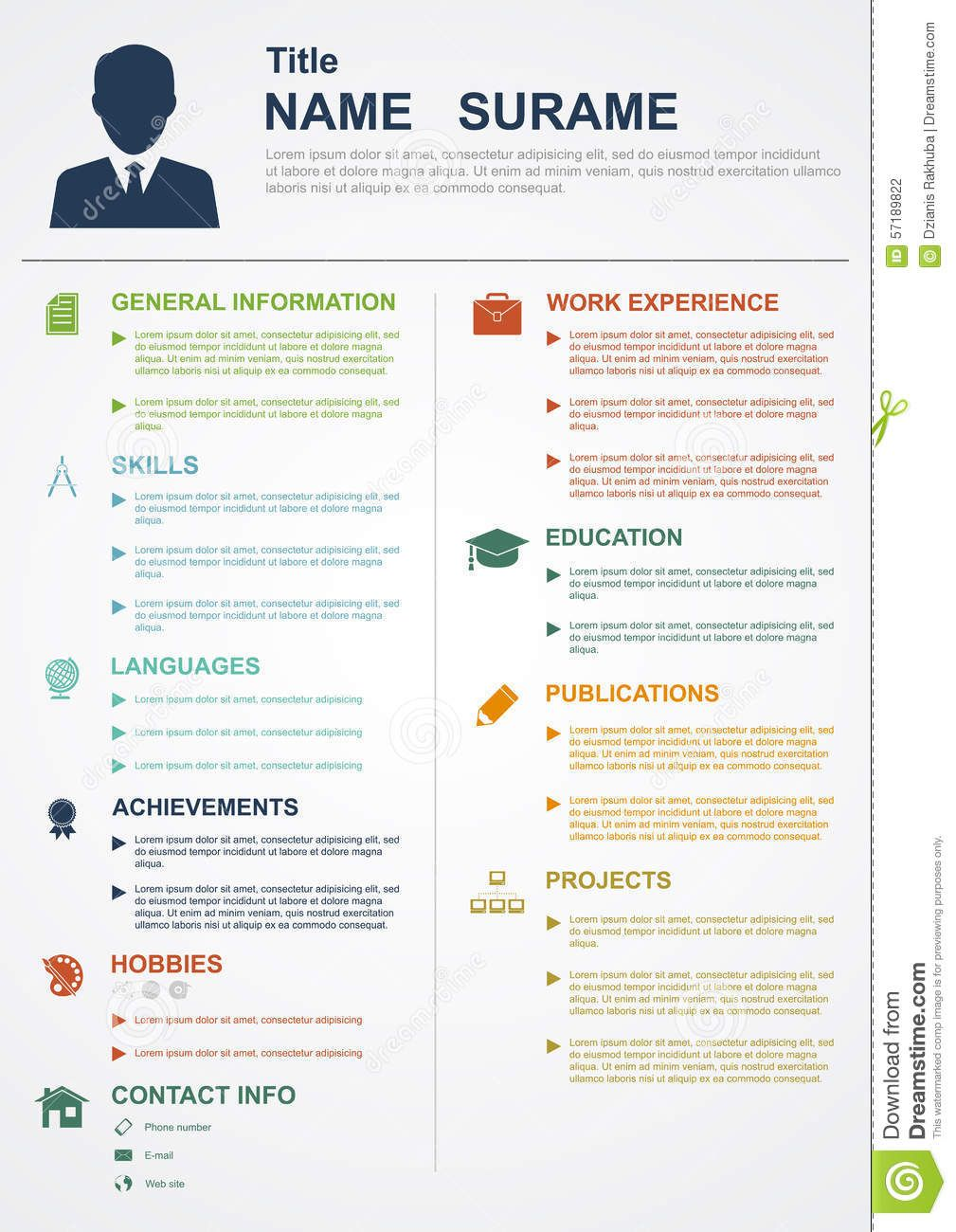 Pin by Meg Evans on Resumes Infographic resume, Graphic