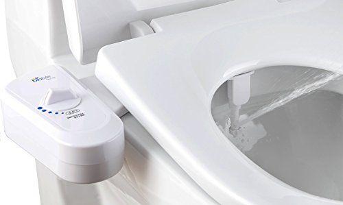 Biobidet Simplet Bb70 Fresh Water Spray Nonelectric Mechanical Bidet Toilet Seat Attachment Brass Inlet Valve Metal Ho Bidet Attachment Bidet Bidet Toilet Seat