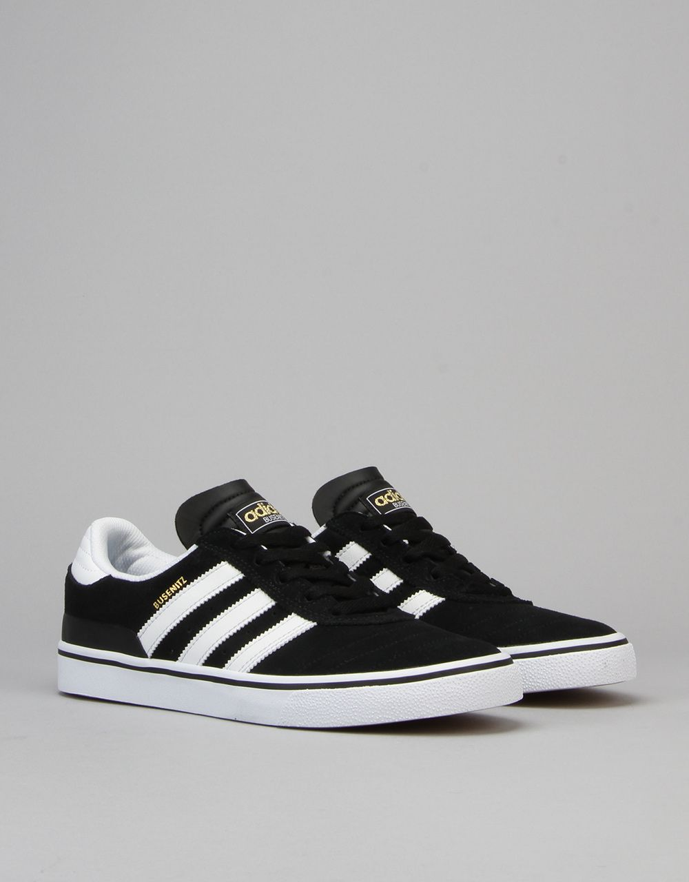 74500c7ac Adidas Busenitz Vulc Skate Shoes - Black Running White Black -  RouteOne.co.uk