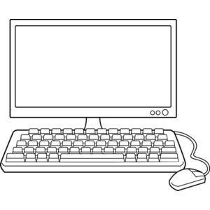 Computer Clip Art Black And White Kids Routine Chart Clip Art Clipart Black And White