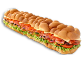 "21"" Giant Subs- Subway"