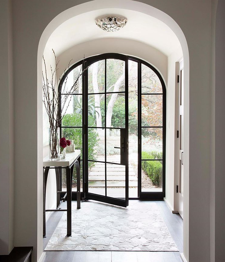 Love arched doors