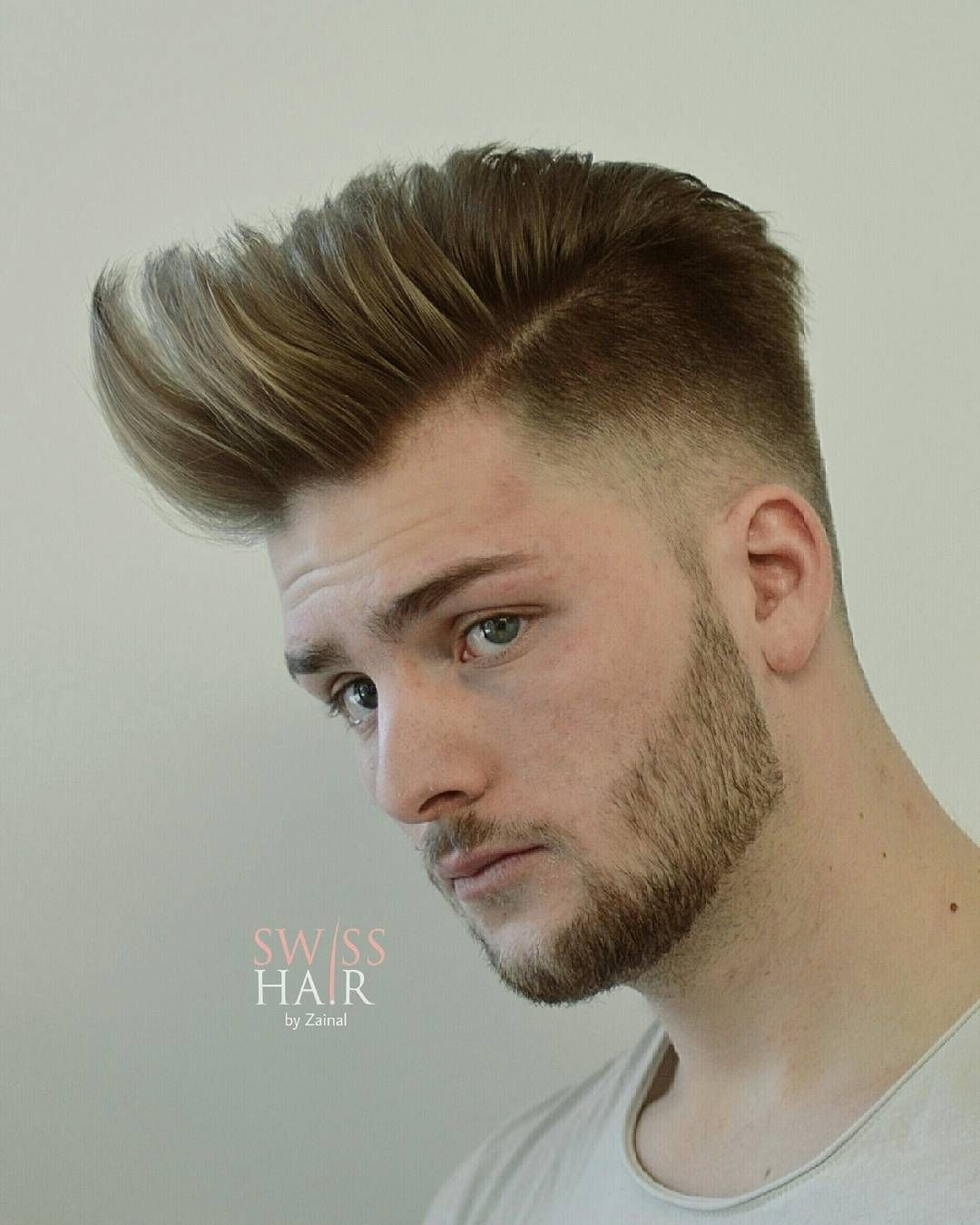 Switzerland Stllen Kemon Hairstylist Mens Hairstyles