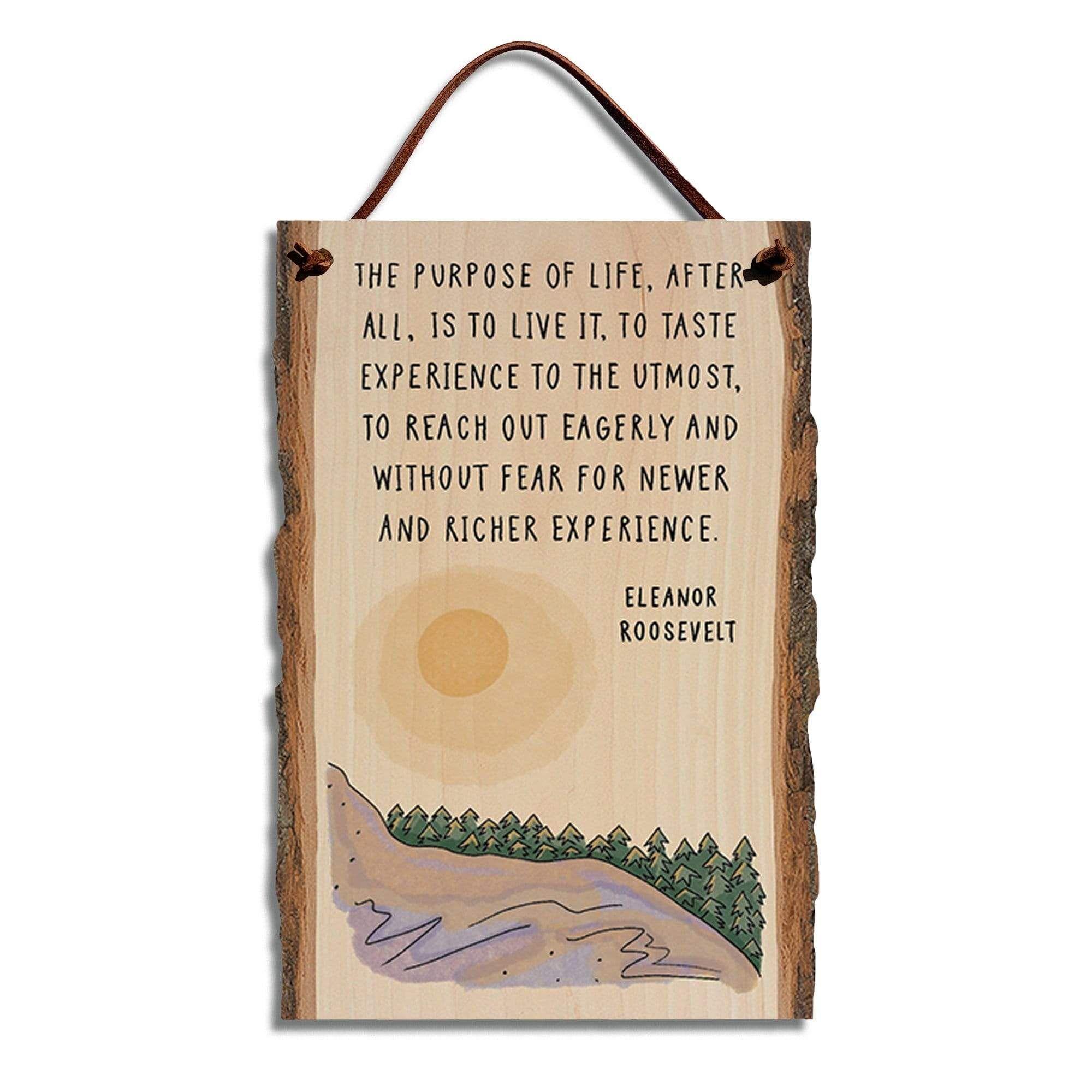 Eleanor Roosevelt To Live Quote on 6