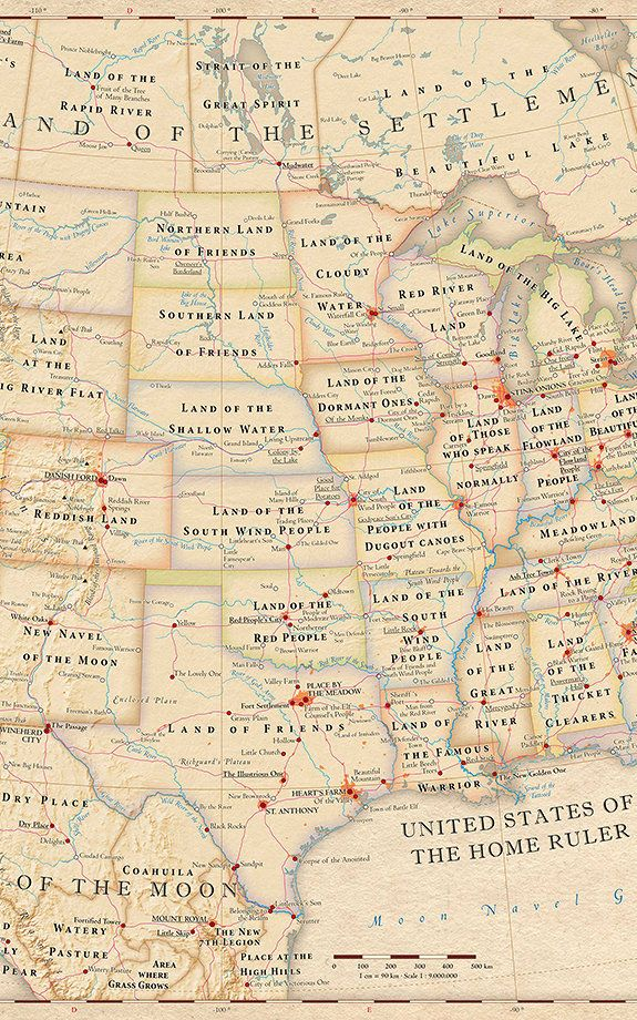 Infographic The Literal Meaning Of Every State Name In