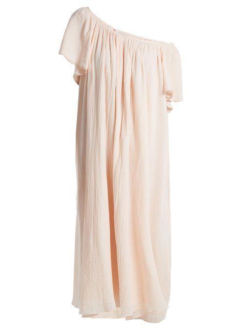 Hydrus off-the-shoulder cotton dress Loup Charmant B4eBx0LS