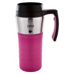Pink Thermos Keeps Your Coffee Hot And Looking Good At The Same Time