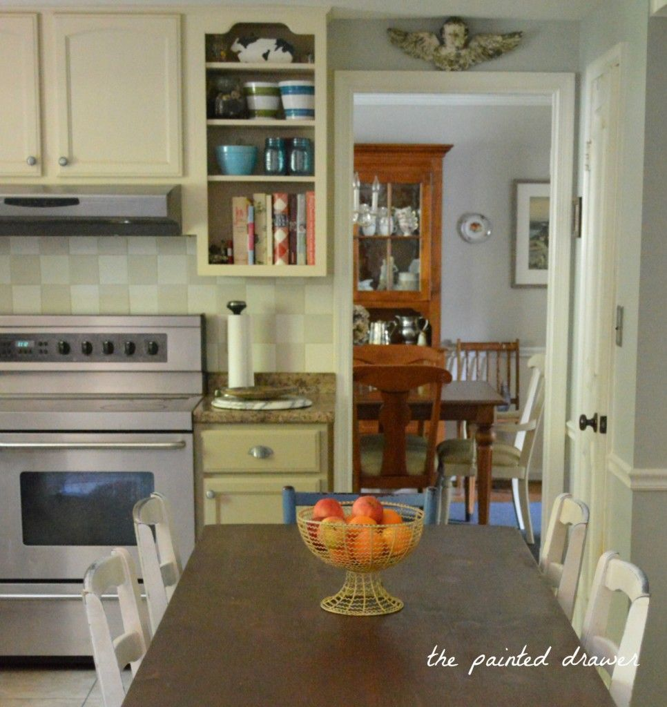 Incroyable General Finishes Millstone Painted Kitchen Cabinets   The Painted Drawer