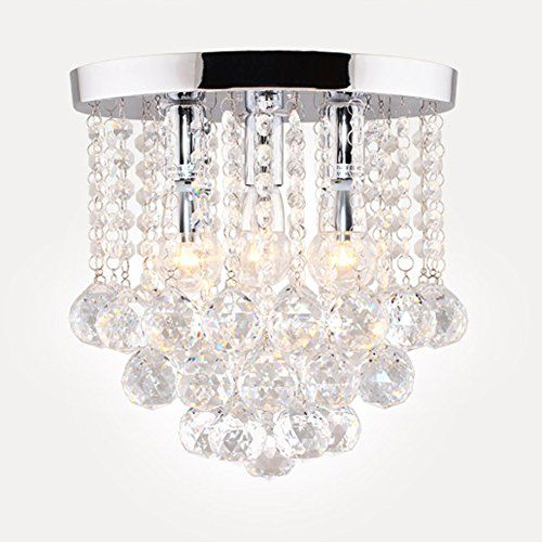 Surpars house crystal chandelier3 lights11 w 10 h