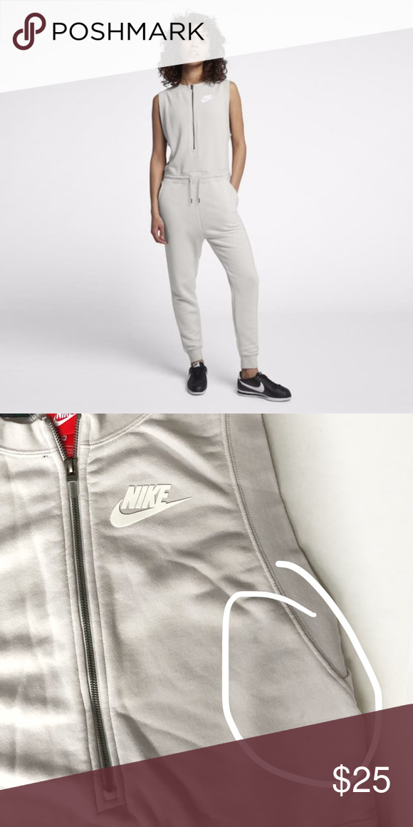 bded0e9ec Nike Sportswear Jumpsuit Everyday comfort the nike sportswear women's  jumpsuit is made soft, french terry