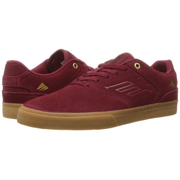 Emerica The Reynolds Low Vulc (Burgundy Gum) Men s Skate Shoes ( 63 ... 09c64ed252953