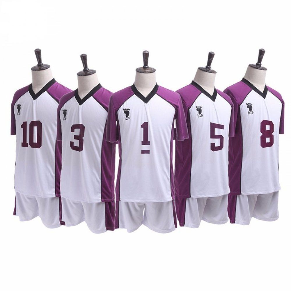 Haikyuu Shiratorizawa Gakuen Volleyball Club Uniform Nakama Store In 2020 Cosplay Costumes Haikyuu Cosplay Cosplay Outfits