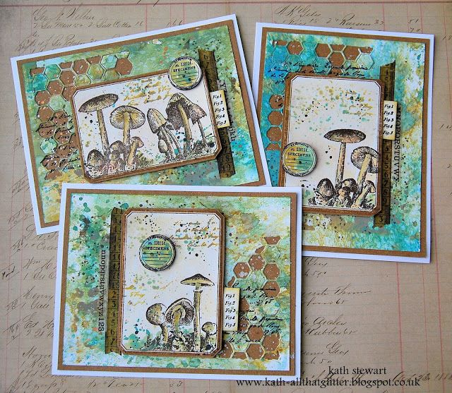 Notelets Decorated With Artist Trading Cards Using Tim