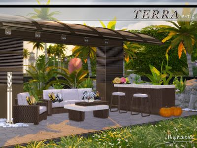 the sims 4 mody patio terra od nyaneve design the sims 4 by