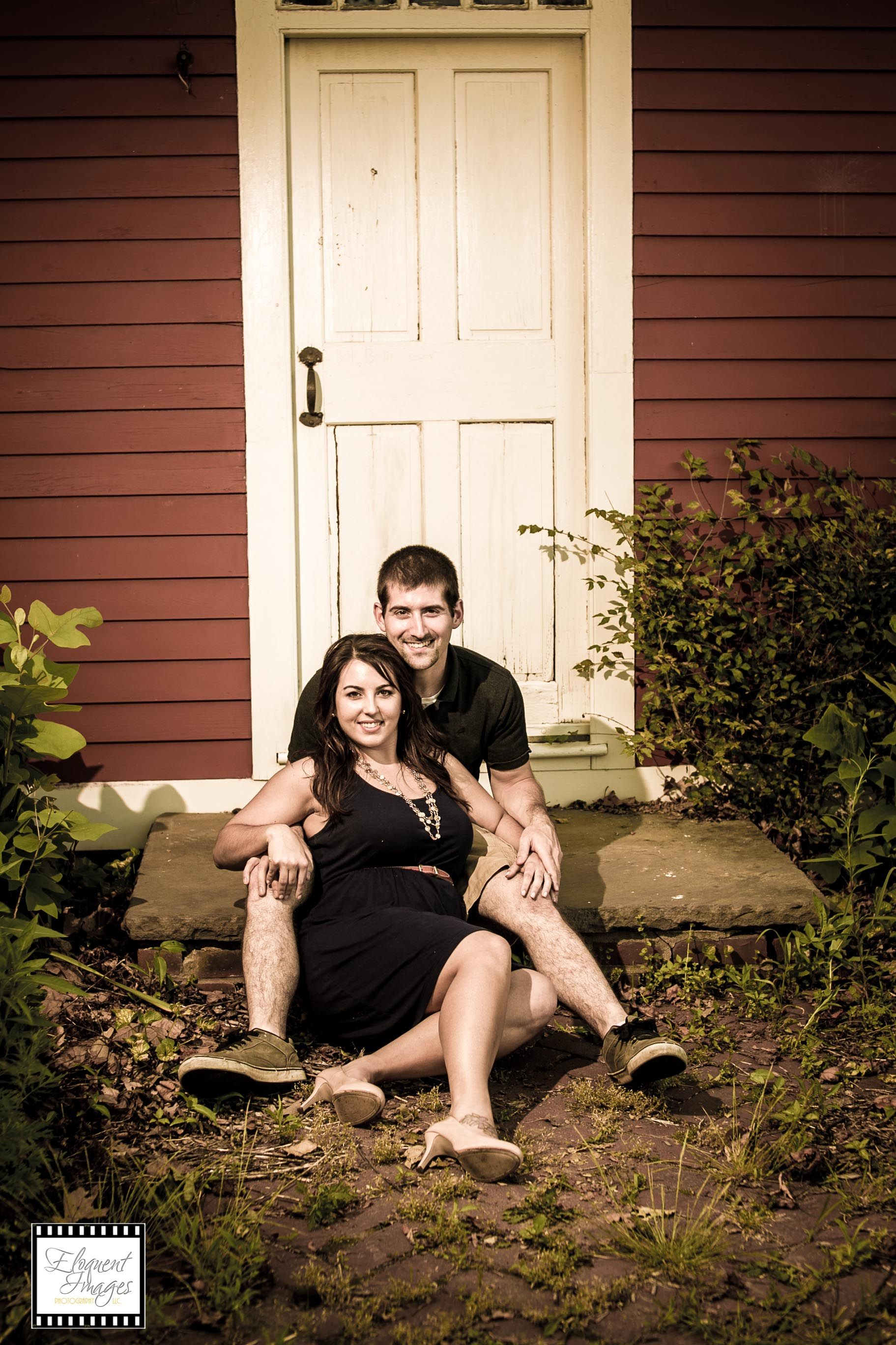 Great engagement session at Roger Williams in Providence