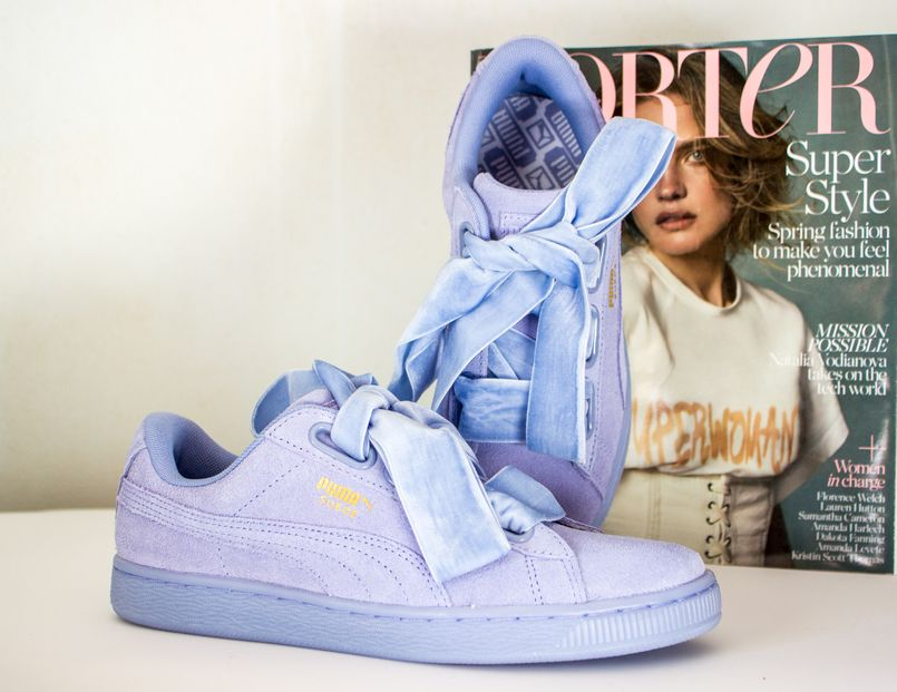 blogger catarine martins fashion inspiration puma suede heart lavender  velvet sneakers blue porter magazine spring 5132 EN 805x621 photo df91cdbfc