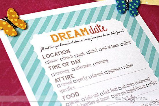 Dream Date by Design