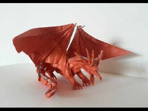 Ancient Dragon Satoshi Kamiya Time Lapse Youtube Origami