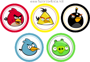 Angry Birds Free Printable Party Kit Manualidades Angry Birds