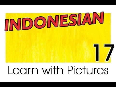Learn Indonesian Vocabulary with Pictures - A Rainbow of Colors