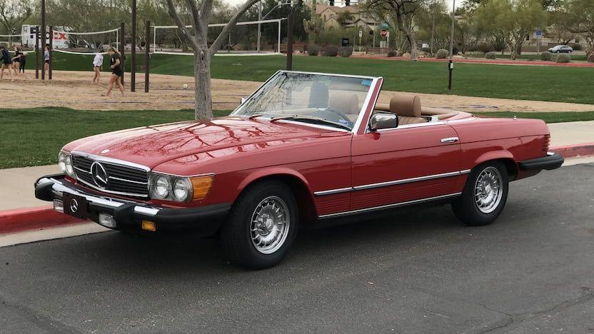 1982 Mercedes Benz 380sl Convertible T3 7 Phoenix Glendale 2019 Mercedes Mercedes Benz Benz