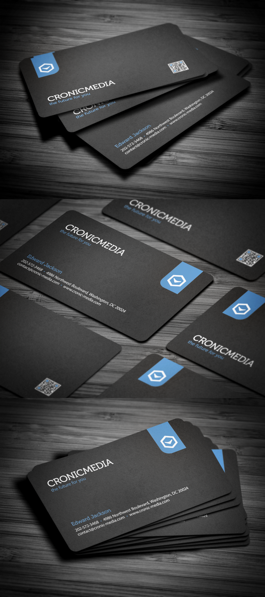 Stylish Corporate Business Card | Must be printed | 名片 | Pinterest ...