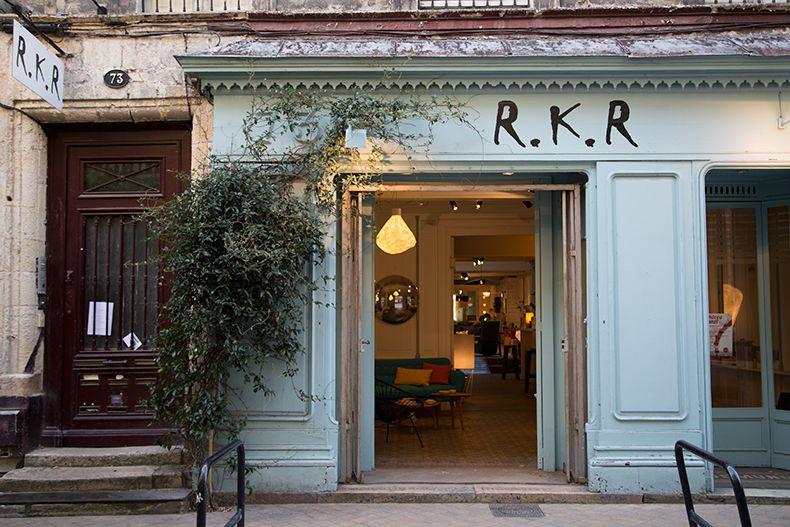 Rkr shop dans le quartier des chartrons sur la jolie rue notre dame vous trouverez rkr un grand magasin qui propose du mobilier contemporain de