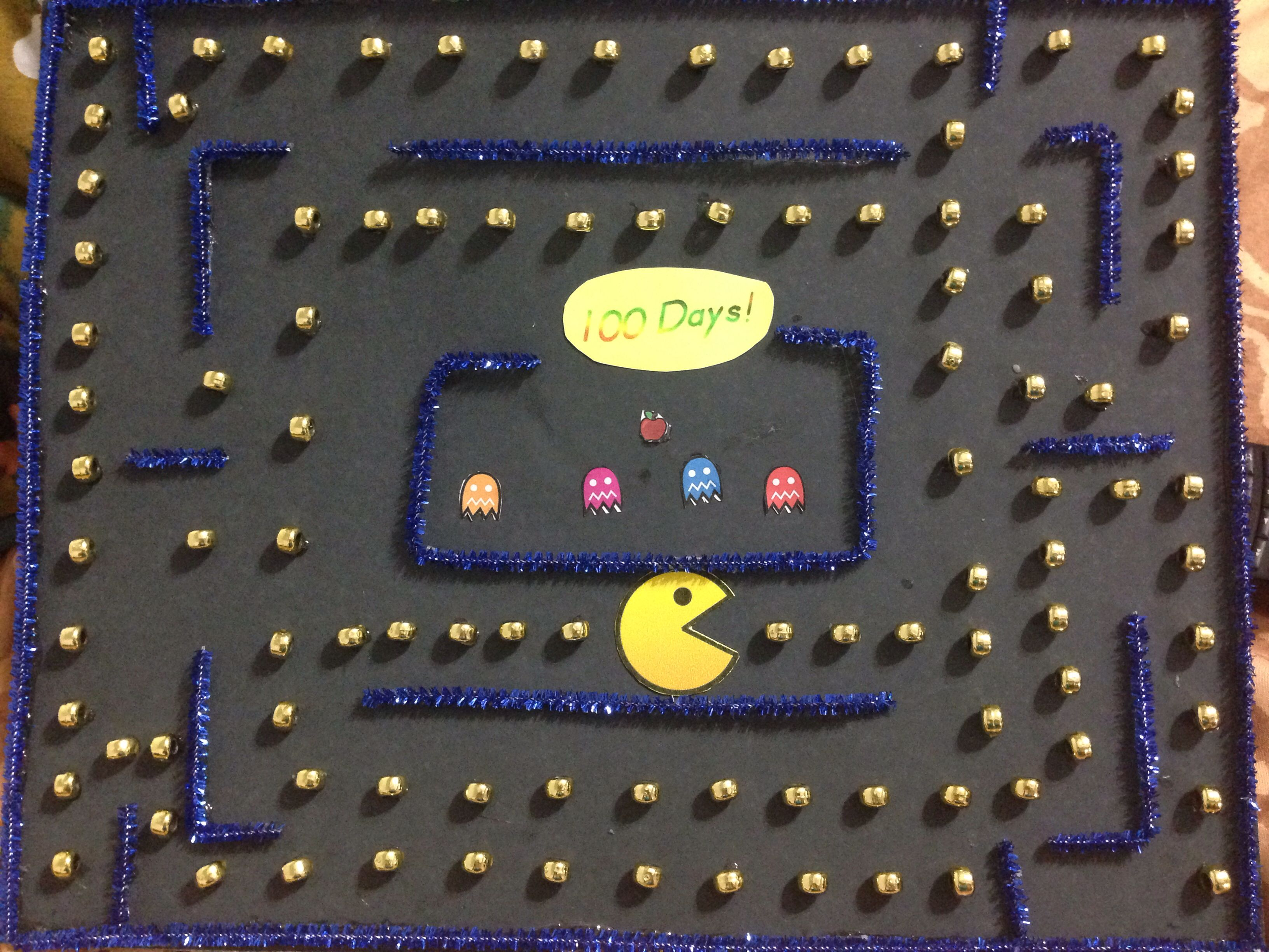 100 days of project pac man 100 days of projects