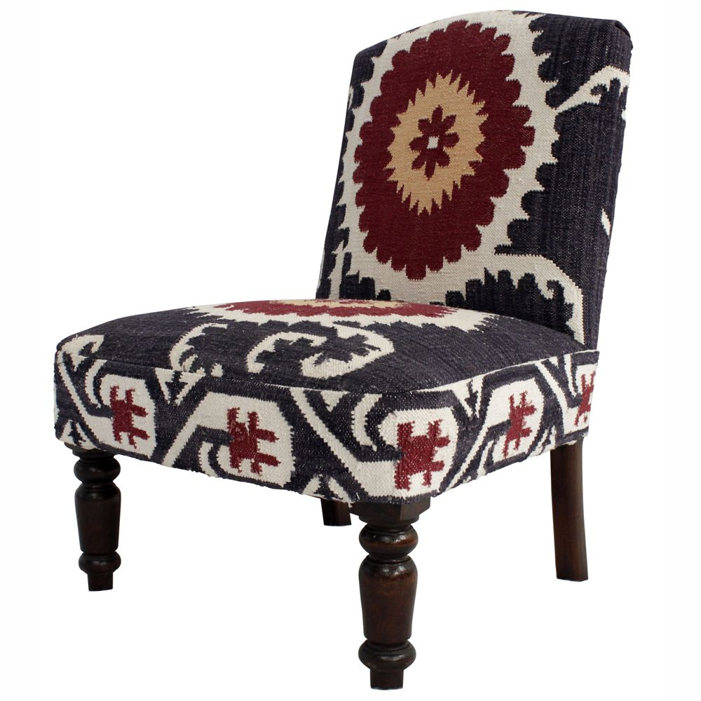 Nuloom casual living suzani kilim multi chair overstock com shopping the best deals on chairs